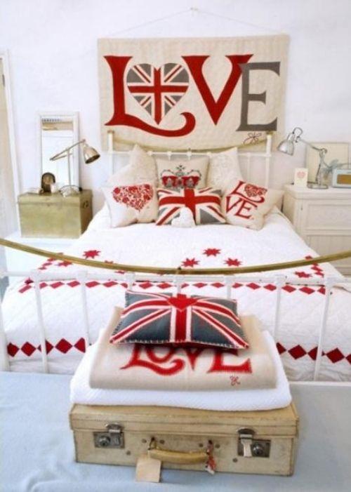 dekoration f r kinderzimmer englischen stil herz london in 2019 kinderzimmer kinder. Black Bedroom Furniture Sets. Home Design Ideas