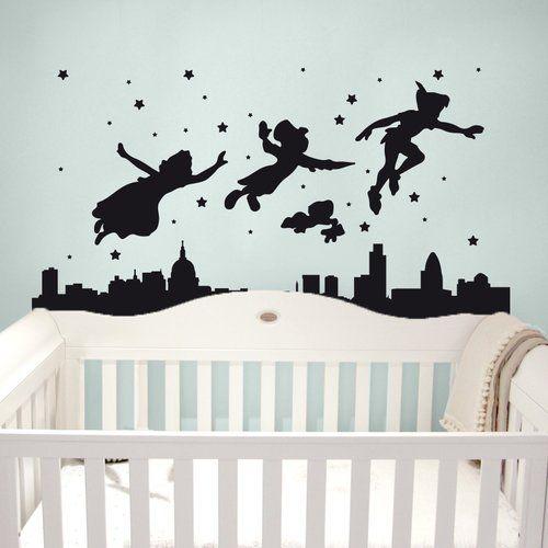 Adesivi Murali Peter Pan.Peter Pan Wall Sticker Imagicom In 2019 Products Wall Stickers