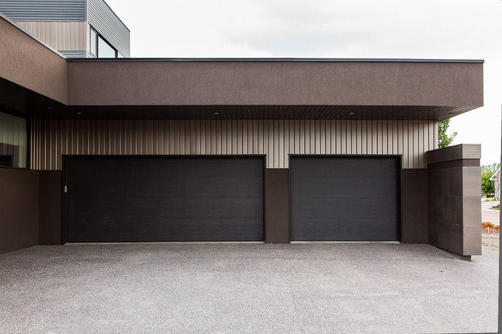 Marvelous Schwarz Garagentor, Moderne Garagentore, Eingangstüren, Garage Ideen, Tür  Design, Garagen, Hauswand, House Ideas, Landschaftsbau