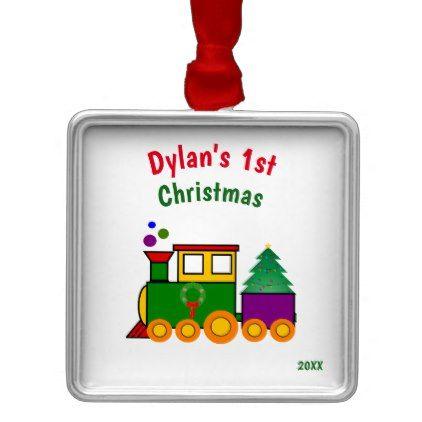 Baby\u0027s First Christmas Train Ornament Pinterest Christmas train
