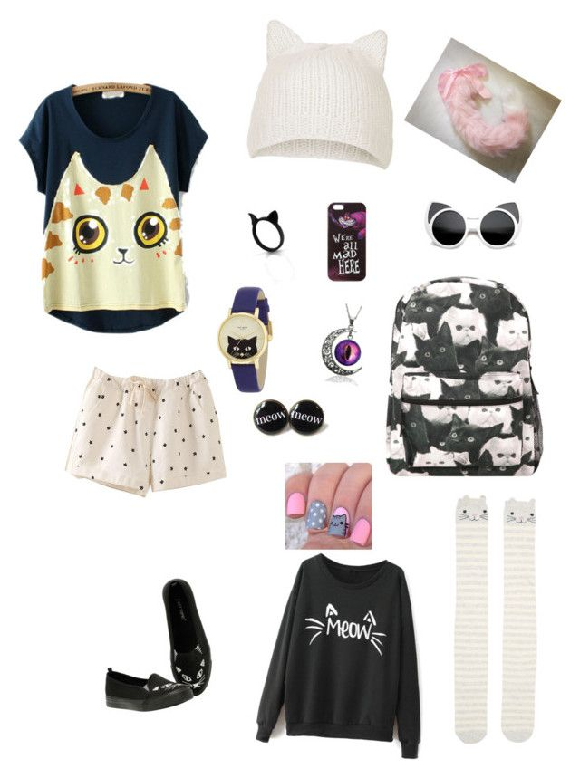 """cats"" by molleighderp ❤ liked on Polyvore"