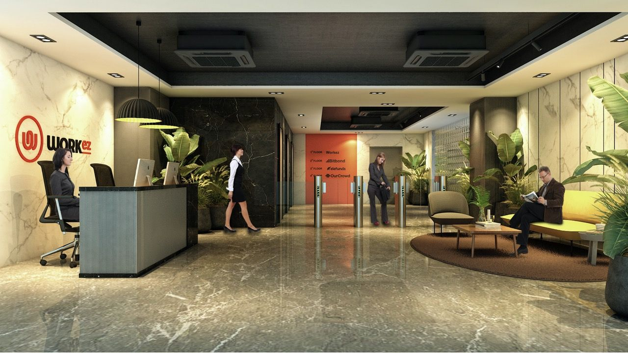 Work EZ - Coworking Space in 2020 | Coworking space, Coworking, Office space