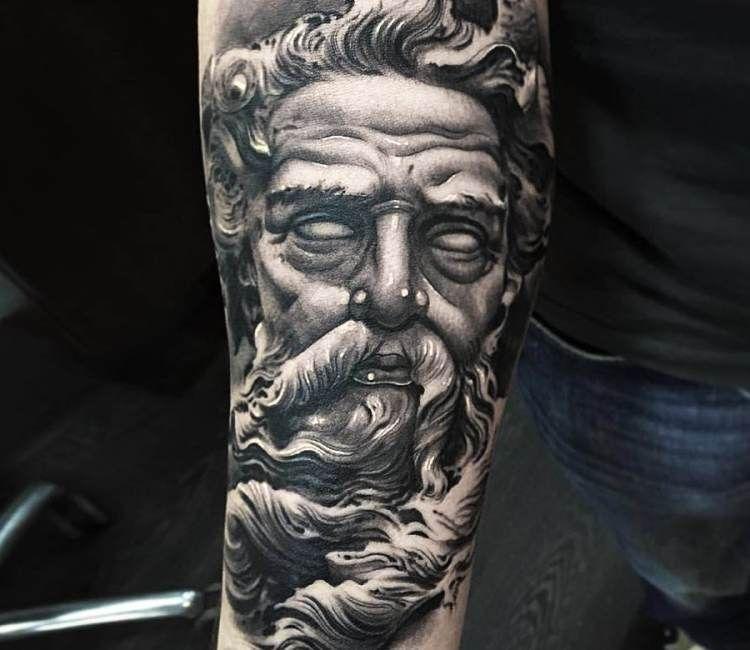 greek god tattoo by ezequiel samuraii best tattoos tatouage id es de tatouages. Black Bedroom Furniture Sets. Home Design Ideas