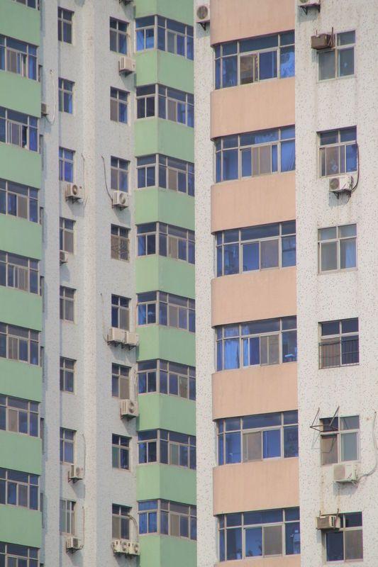 Xi'an, berceau de la Chine #architecture #xian #china #windows
