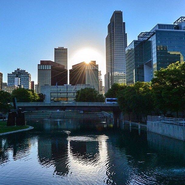 Downtown Omaha: Take A Walk Through Gene Leahy Mall To Get A Perfect View