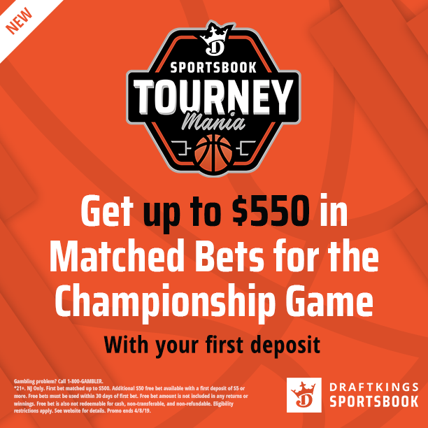 DraftKings Free Bets Up To 550 for Texas TechVirginia