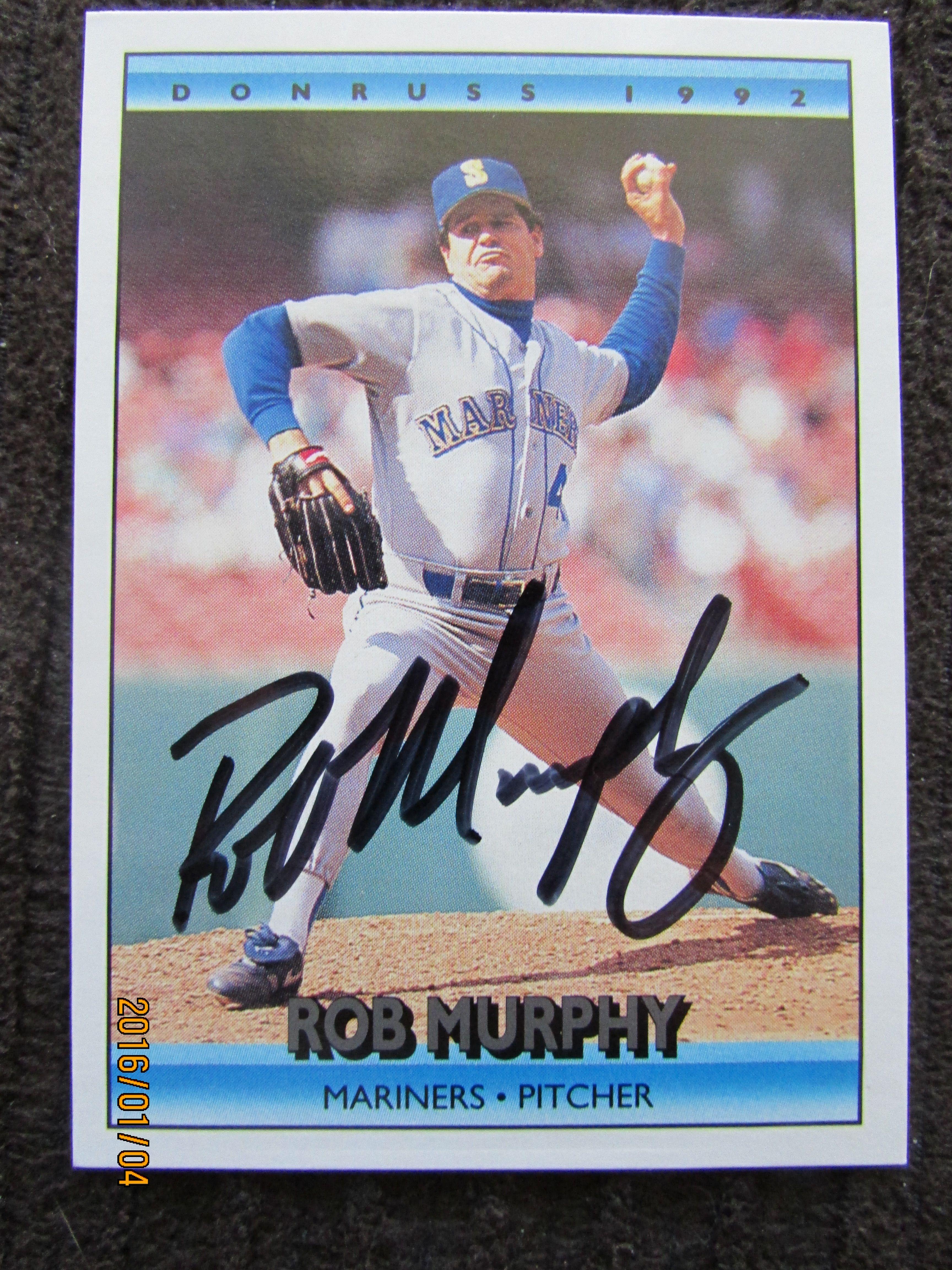 1992 donruss 329 ttm baseball cards mariners i card