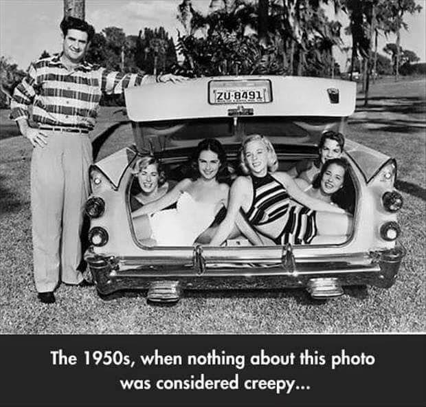 1957 Dodge trunk-full