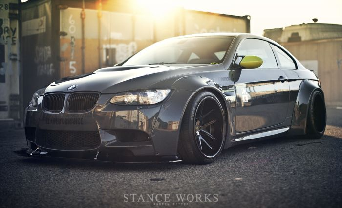 Supercharged Bmw M3 E92 By Liberty Walk With Images Bmw