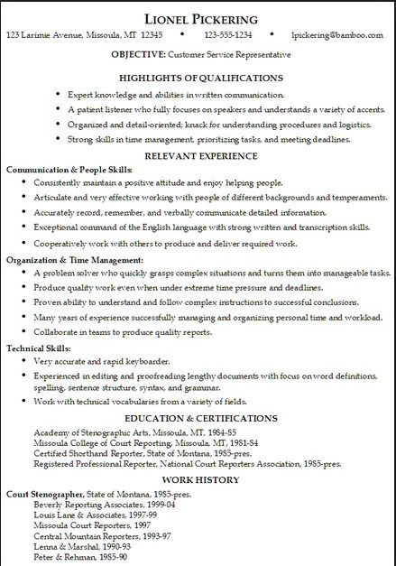 resumeansurc/resume-examples-for-jobs/ Resume Examples - sales resumes examples