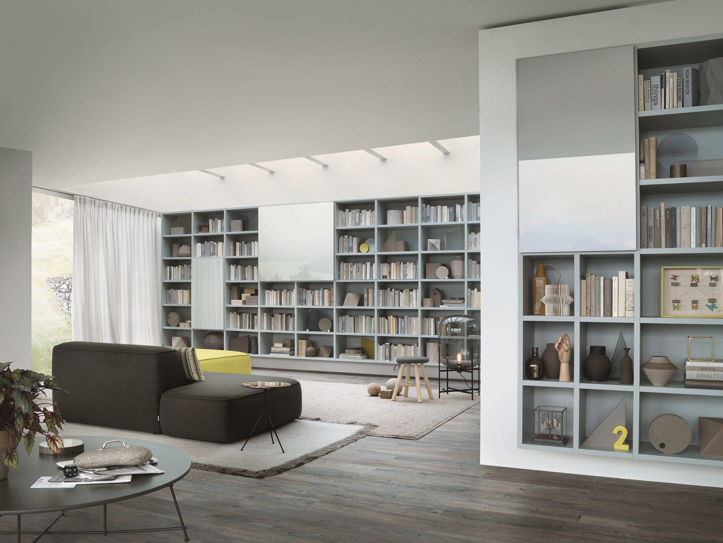 Libreria componibile modulare su misura SELECTA by Lema design ...