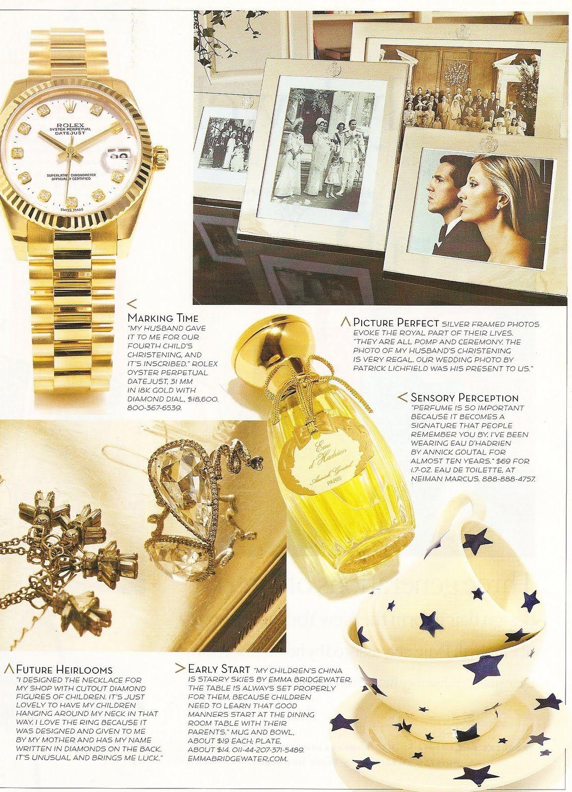 Style Setter > Princess Marie-Chantal of Greece | duchess fare