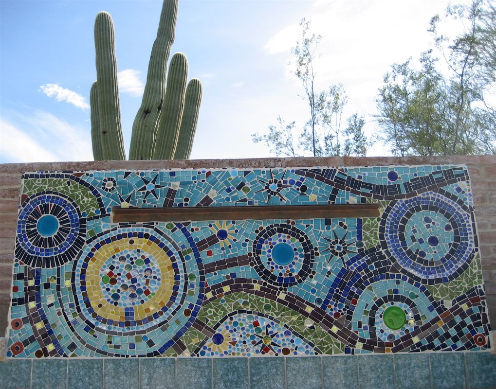 wall: awesome mosaic tile walls: mosaic tile walls | pool