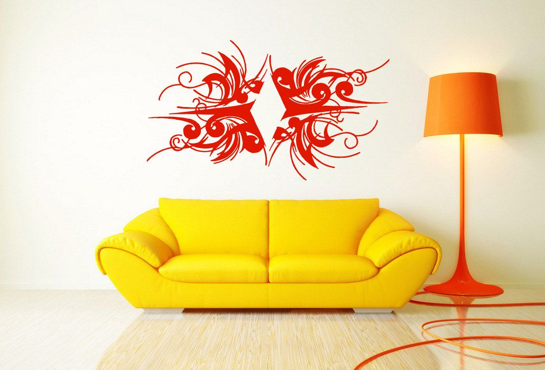 Wall Vinyl Sticker Decals Mural Room Design Pattern Art Cards Game ...