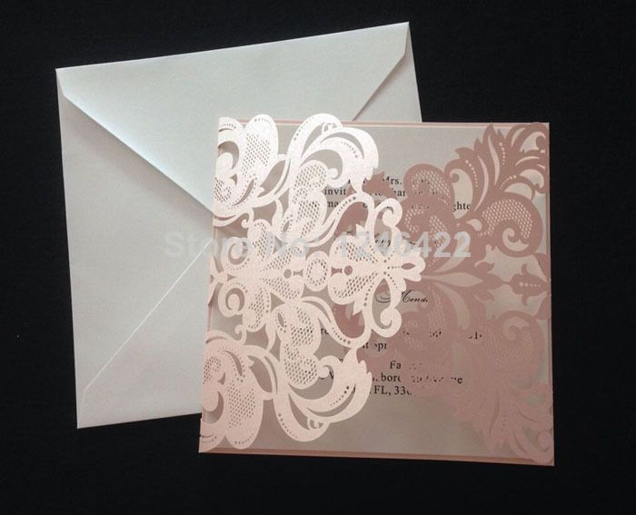 what type of paper is used for invitations