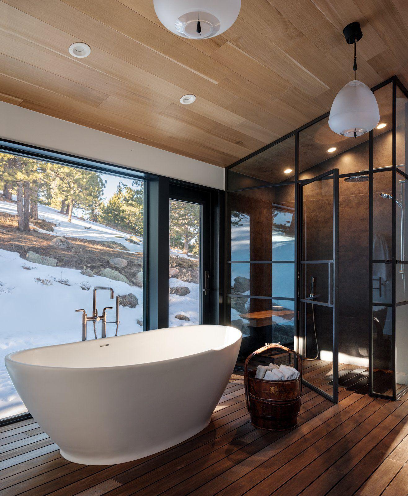 Cabin Modern Home In Boulder Colorado