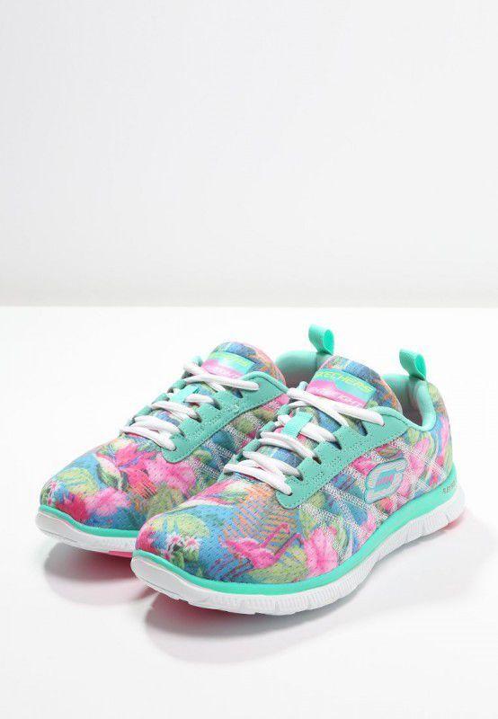 Skechers Sport FLEX APPEAL Sneakers laag aqua/multicolor - Damesschoenen  Shop