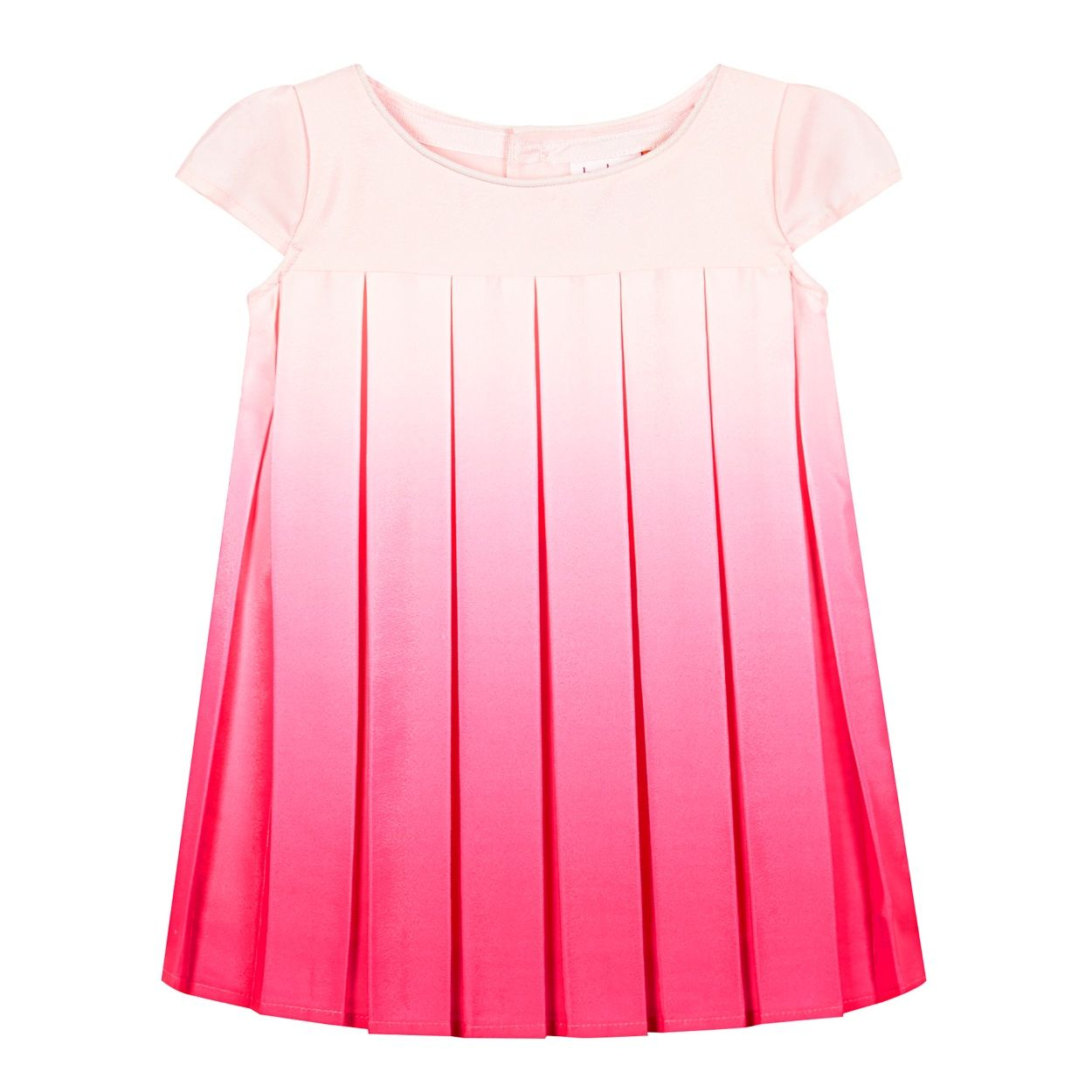 2052d078c5ff8 Baker by Ted Baker Girl s pink ombre pleated dress-