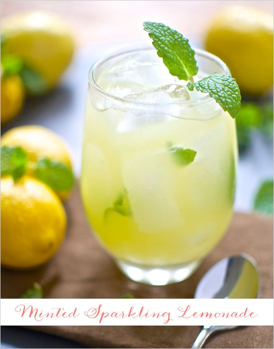 5 Yummy Lemonade Recipes #sparklinglemonade
