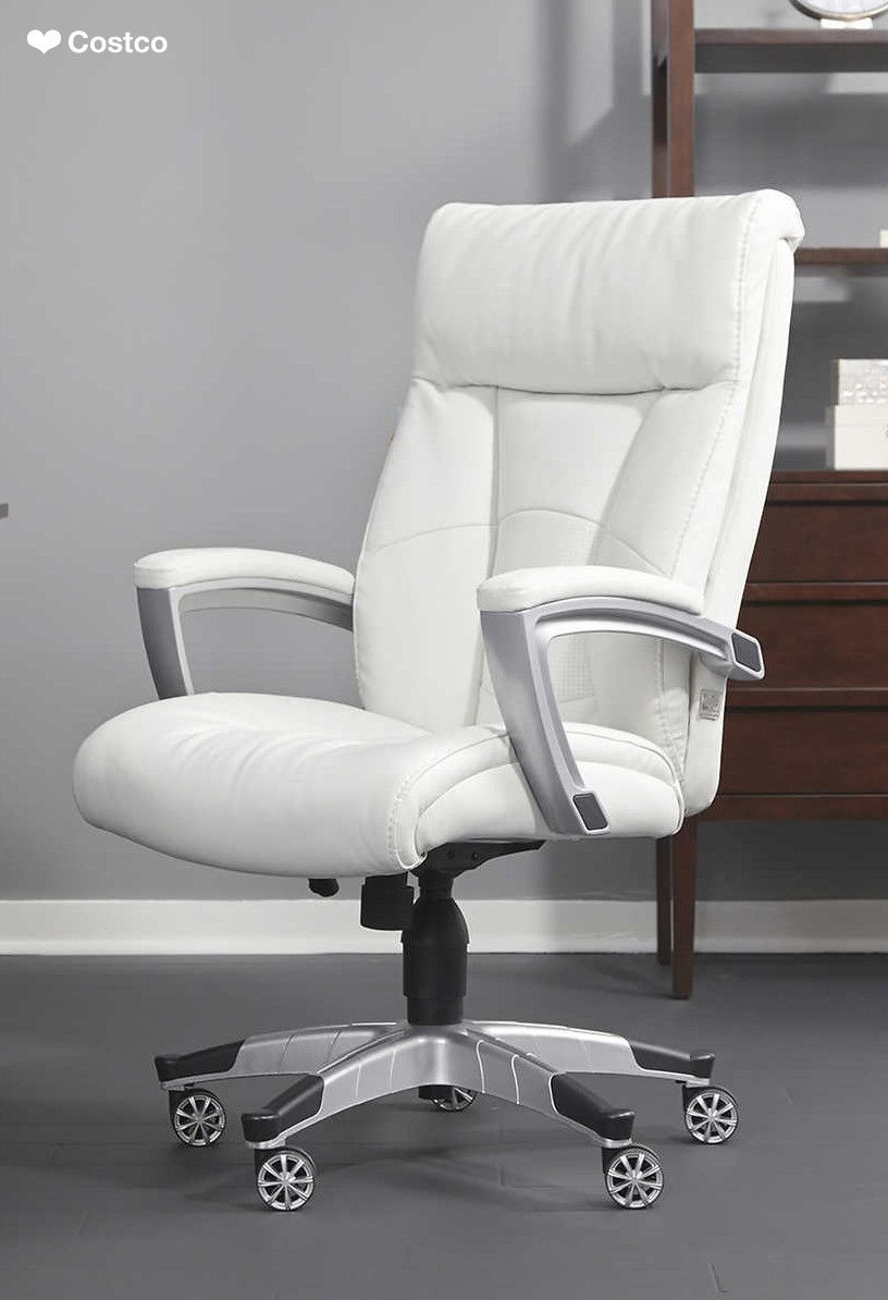 sleek and contemporary this office chair provides comfort and