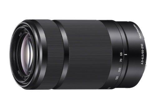 Sony E 55 210mm F4 5 6 3 Lens For Sony E Mount Cameras Black In 2020 Digital Camera Lens Sony E Mount Sony Nex