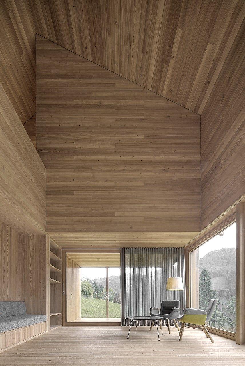 Haus am Stürcher Wald | bernardobader.com | Arch: Interior ...