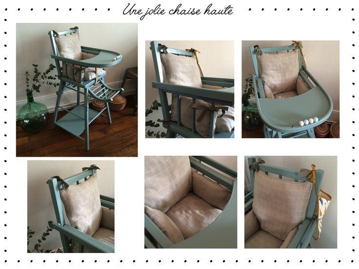 DIY : coussin pour chaise haute combelle | Coussin chaise