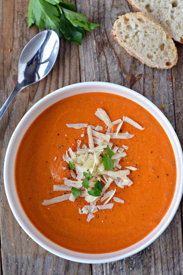 Photo of Nordstrom's Tomato Basil Soup