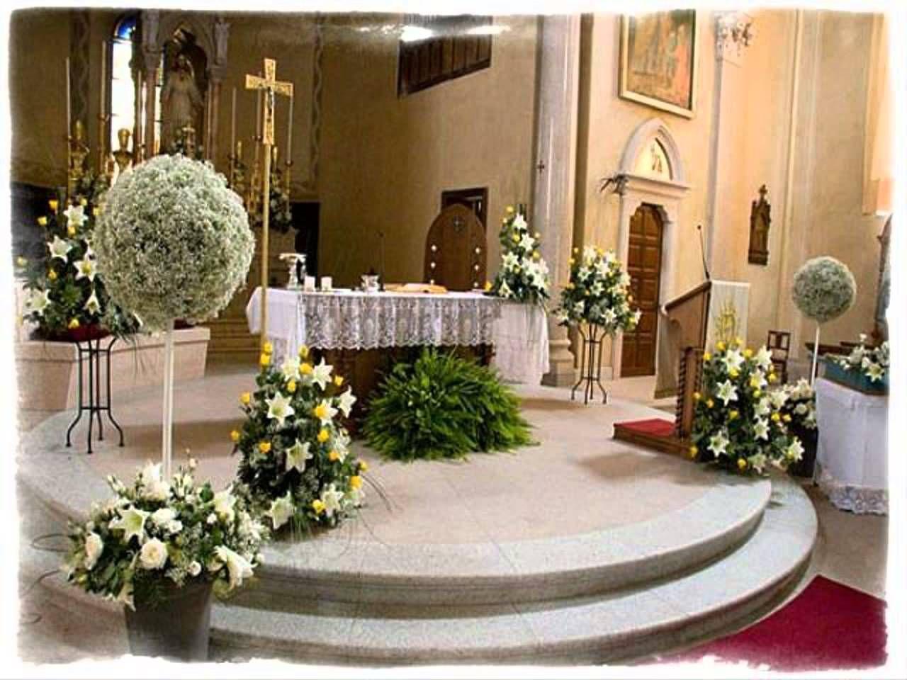 Church Decor For Wedding Church Wedding Decorations Pinterest