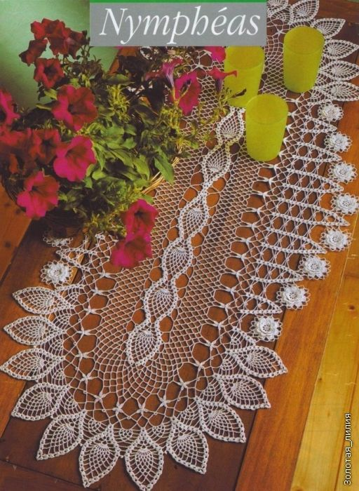 Crochet oval tablecloth - TheFind   Crochet Table Clothes/doilies ...