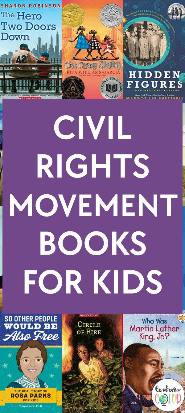 Photo of Civil Rights Movement Books for Kids | Black History