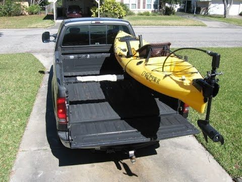 Low profile kayak rack for a truck DIY part 2