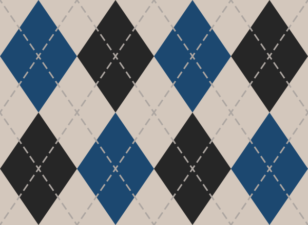 argyle_pattern_white_blue_black