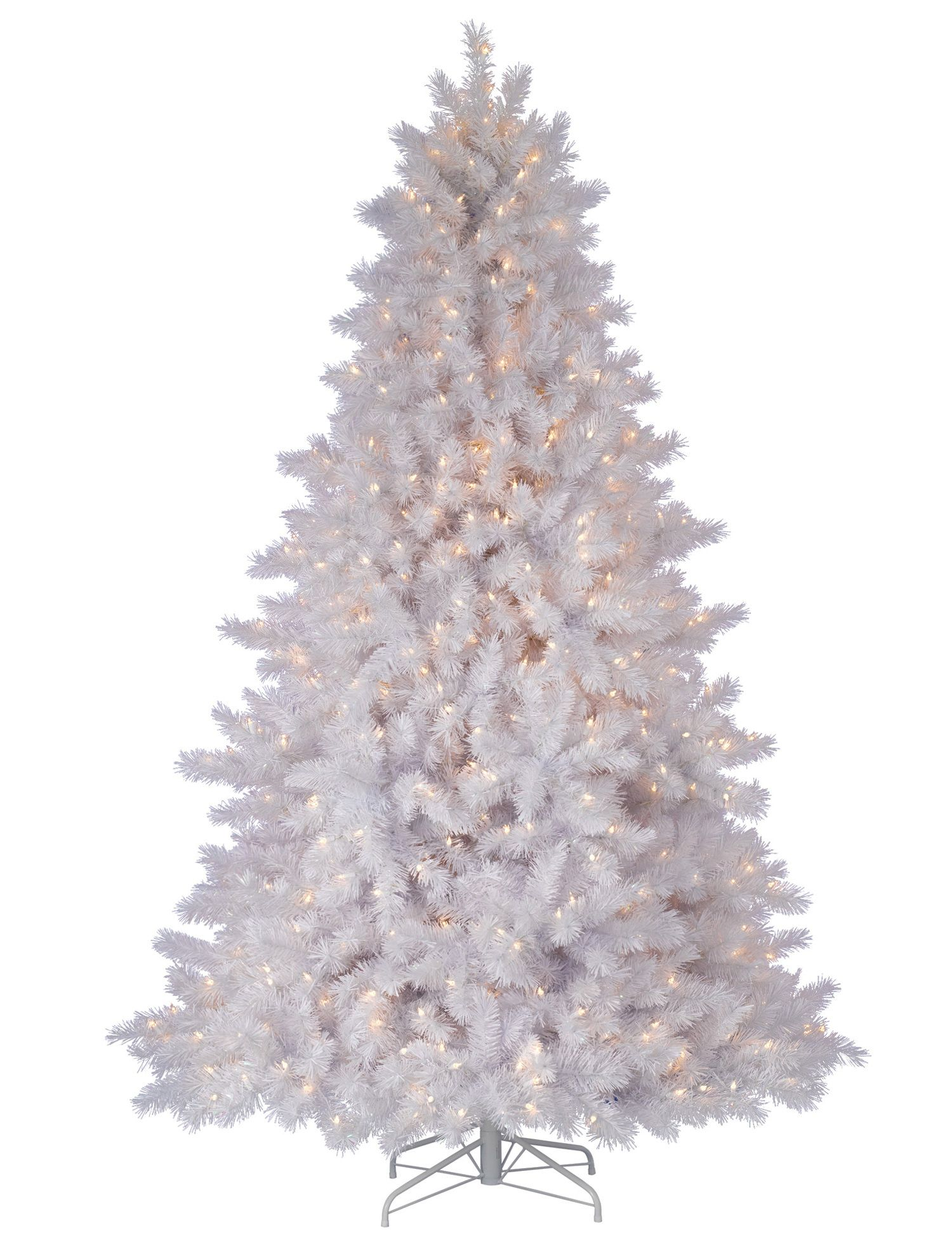 Classic White Artificial Christmas Tree | Balsam Hill ...