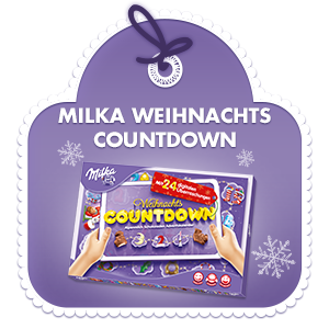 Milka Weihnachtskalender.Milka Adventskalender Weihnachts Countdown 200g Christmas