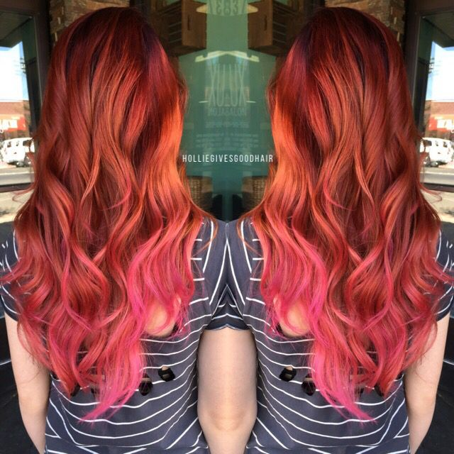 Strawberry Hair Hairstyles In 2019 Pink Hair Hair Hair Styles