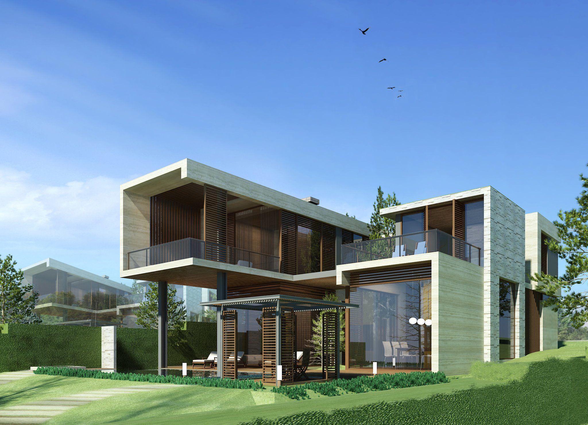 Casa moderna home pinterest casas modernas moderno for Casa moderna arquitectura