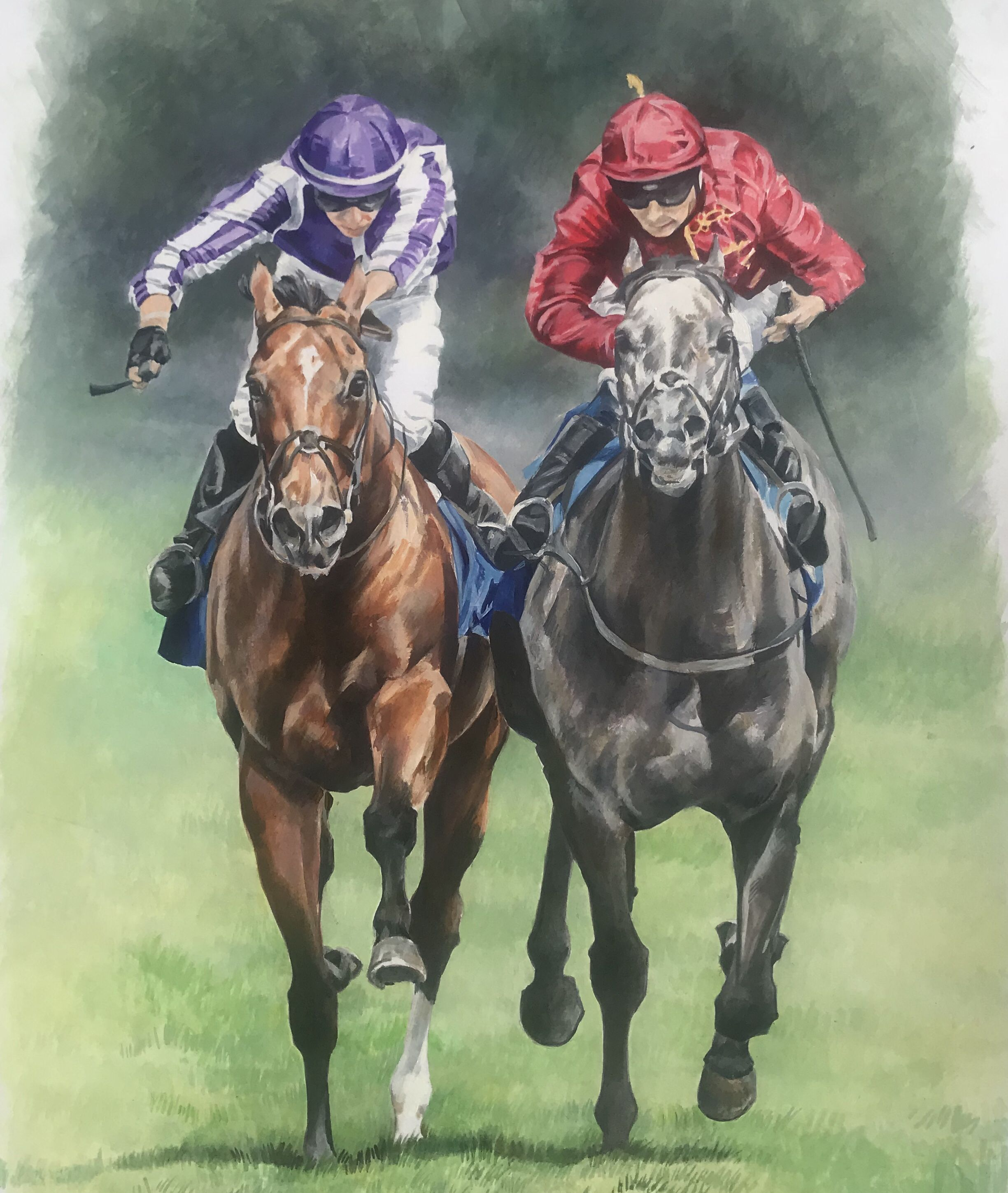 Roaring Lion And Saxon Warrior Eclipse Stakes 2019 With Images