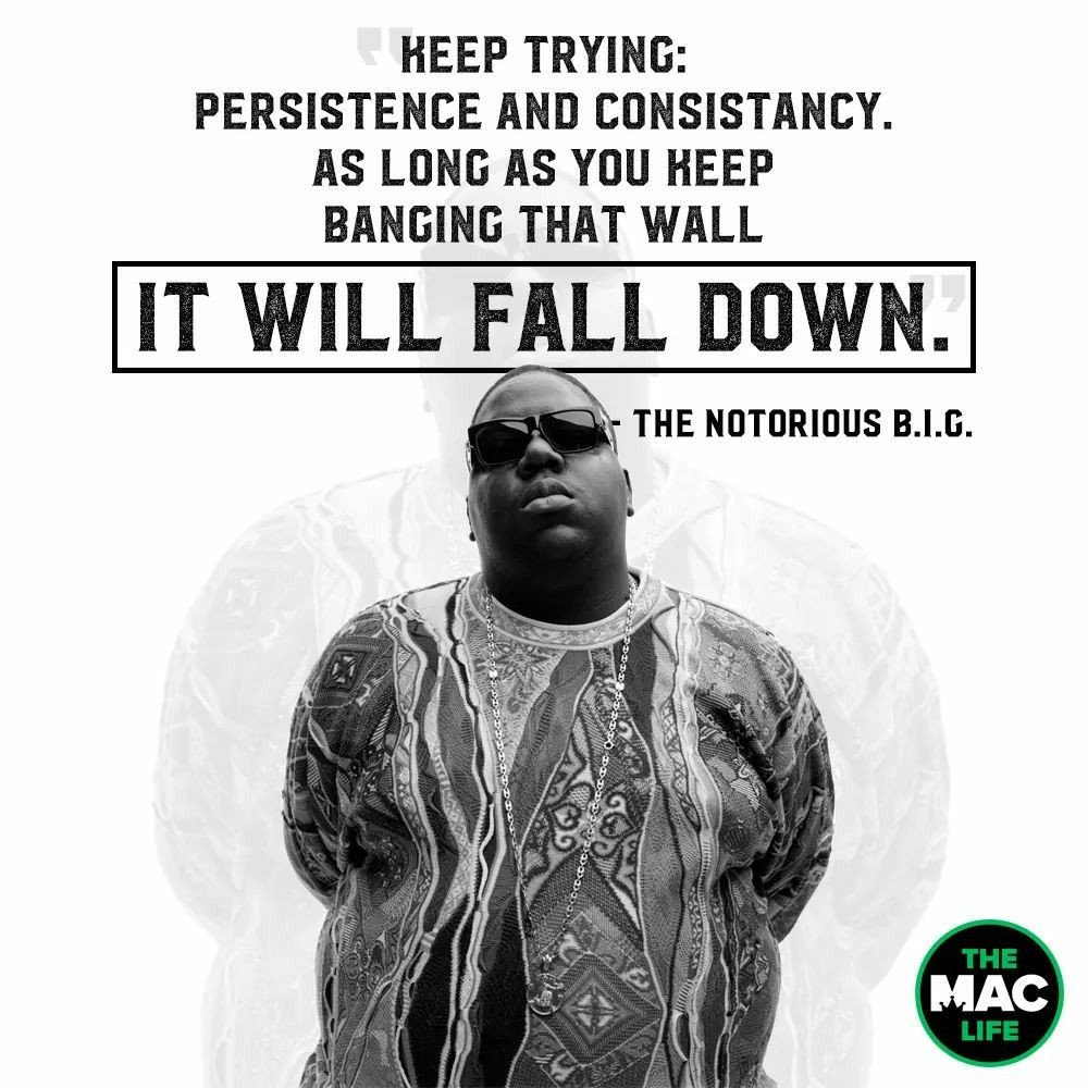 Notorious B I G Notorious Big Quotes Rap Quotes Inspirational Posters