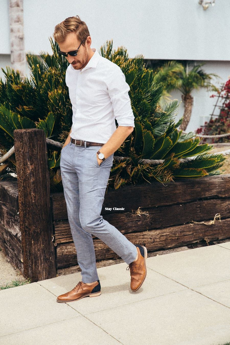 Shirting With Express Stay Classic Mens White Dress Shirt Grey Dress Pants Outfit Mens Casual Outfits [ 1350 x 900 Pixel ]