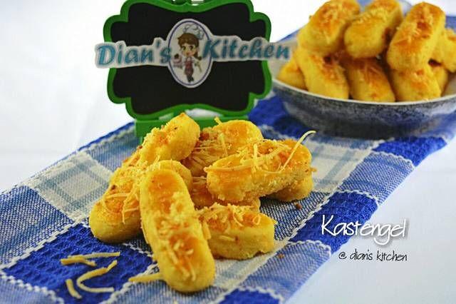 Resep Kastengel Keju Super Ngejuu By Dian S Kitchen Resep Aneka Kue Kering Keju Kue Kering Makanan