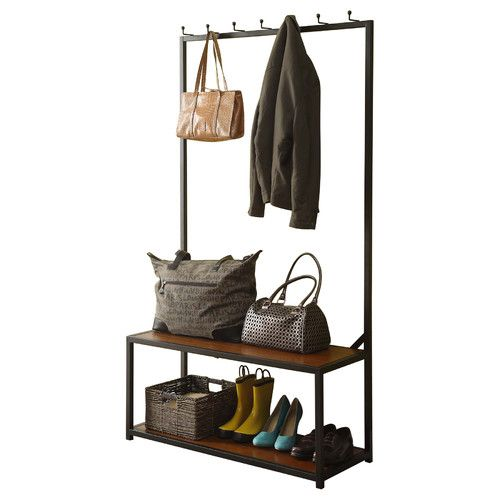 Found it at Wayfair - Mitchell Metal and Wood Hall Tree