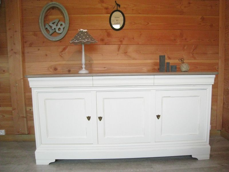 Buffet Louis Philippe Relooke Patines Couleurs En 2020 Relooker Meuble Relooking Meuble Buffet Meuble