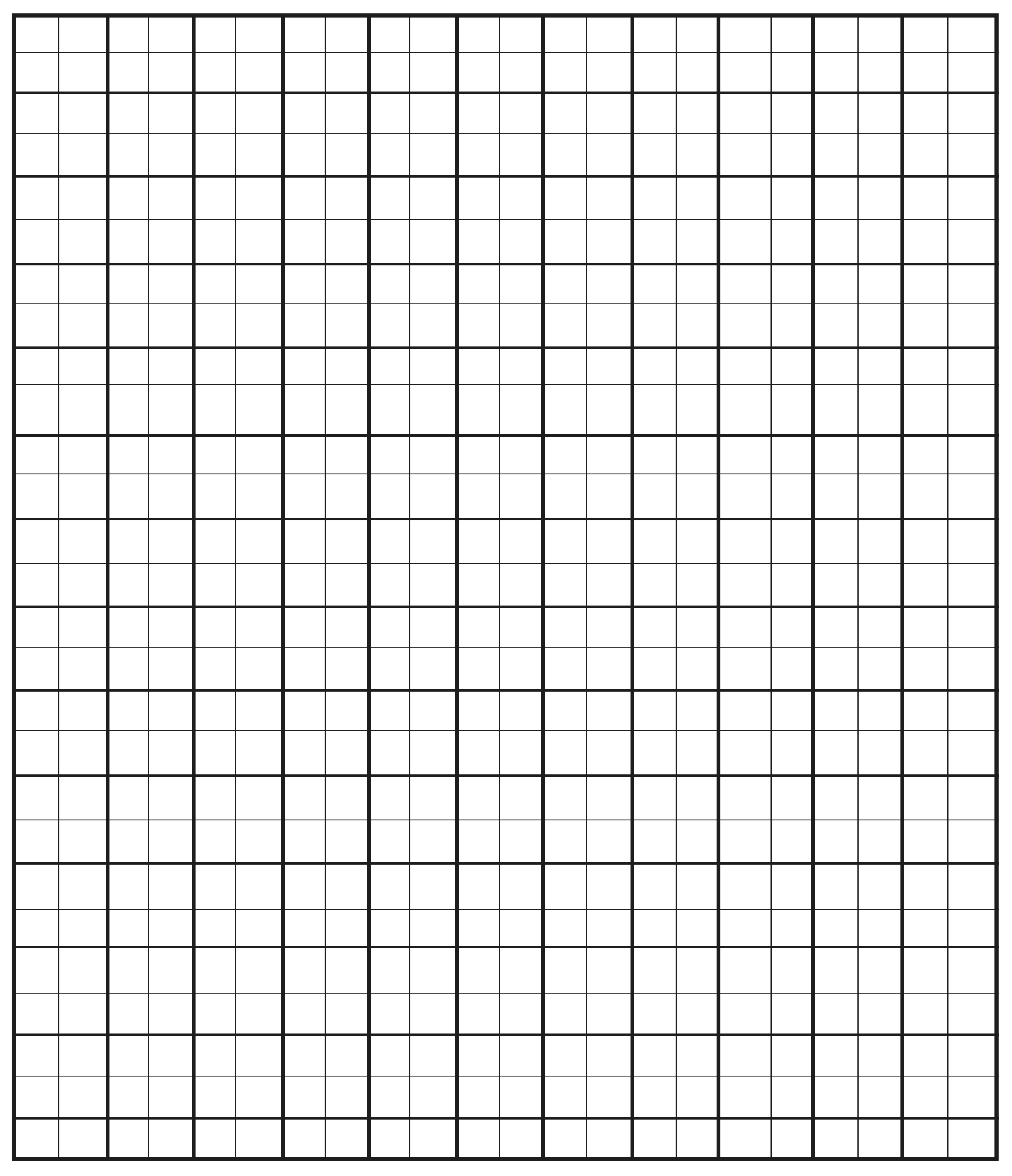 Free Printable Engineering Graph Paper Templates