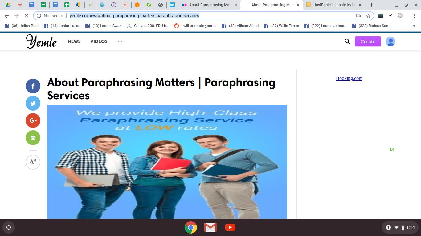 Rewording Website Paraphrase Writing Word Online