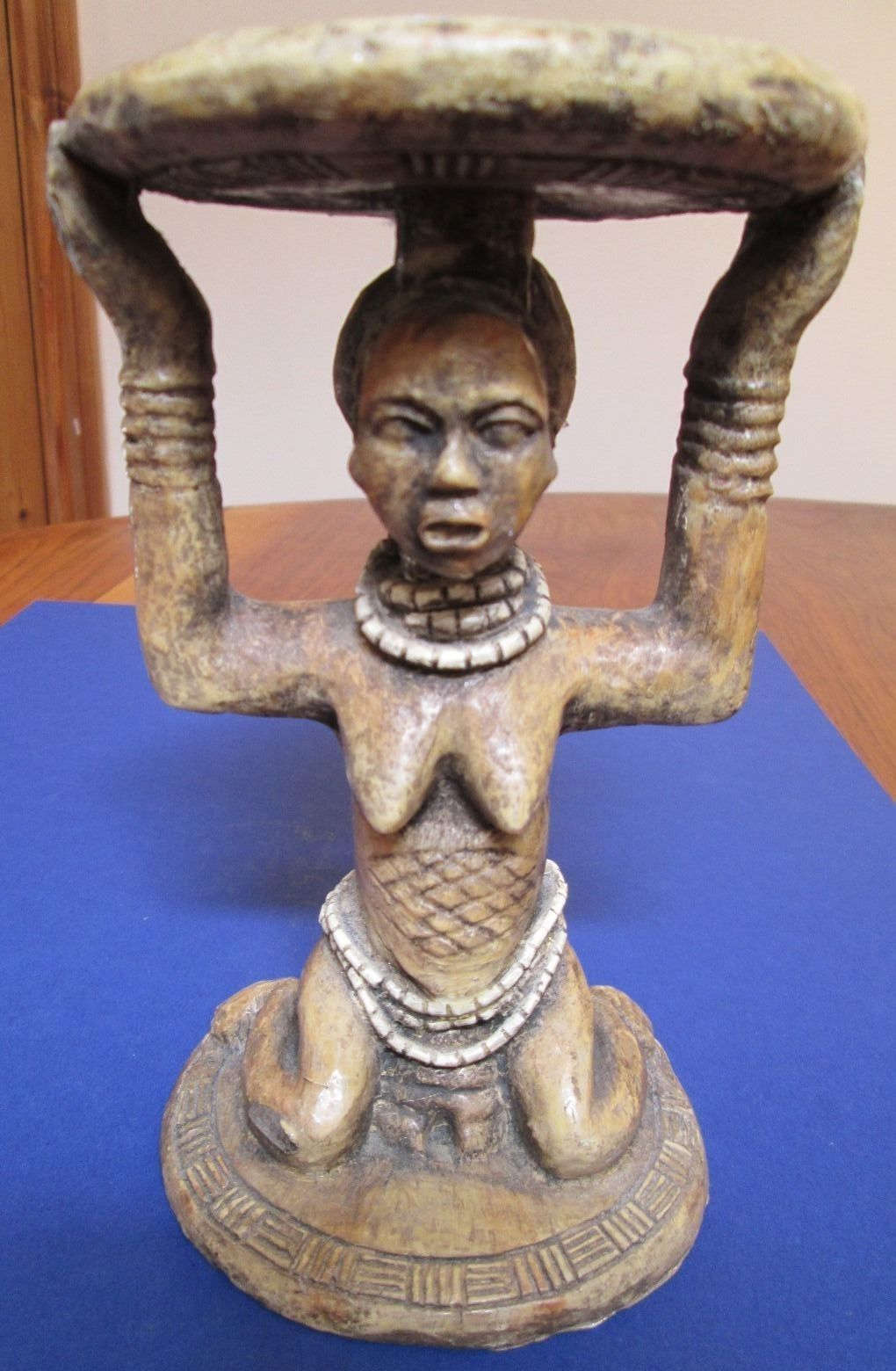 African Carved Table African Artwork African Art African Furniture