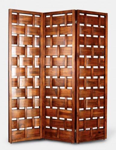 Wood Screens Divider, Folding