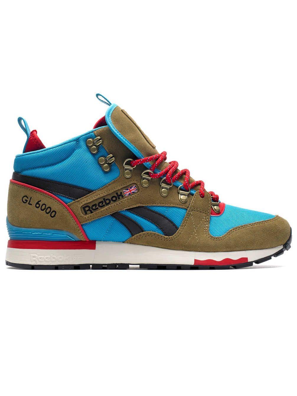 Bijzondere Reebok GL 6000 Mid Sneakers Deze Reebok GL 6000 Mid Sneakers zijn nu voor 119.95 verkrijgbaar. Mooie en stijlvolle sneakers van Reebok. De GL 6000 Mid Sneakers worden aangeboden door Blue Tomato.