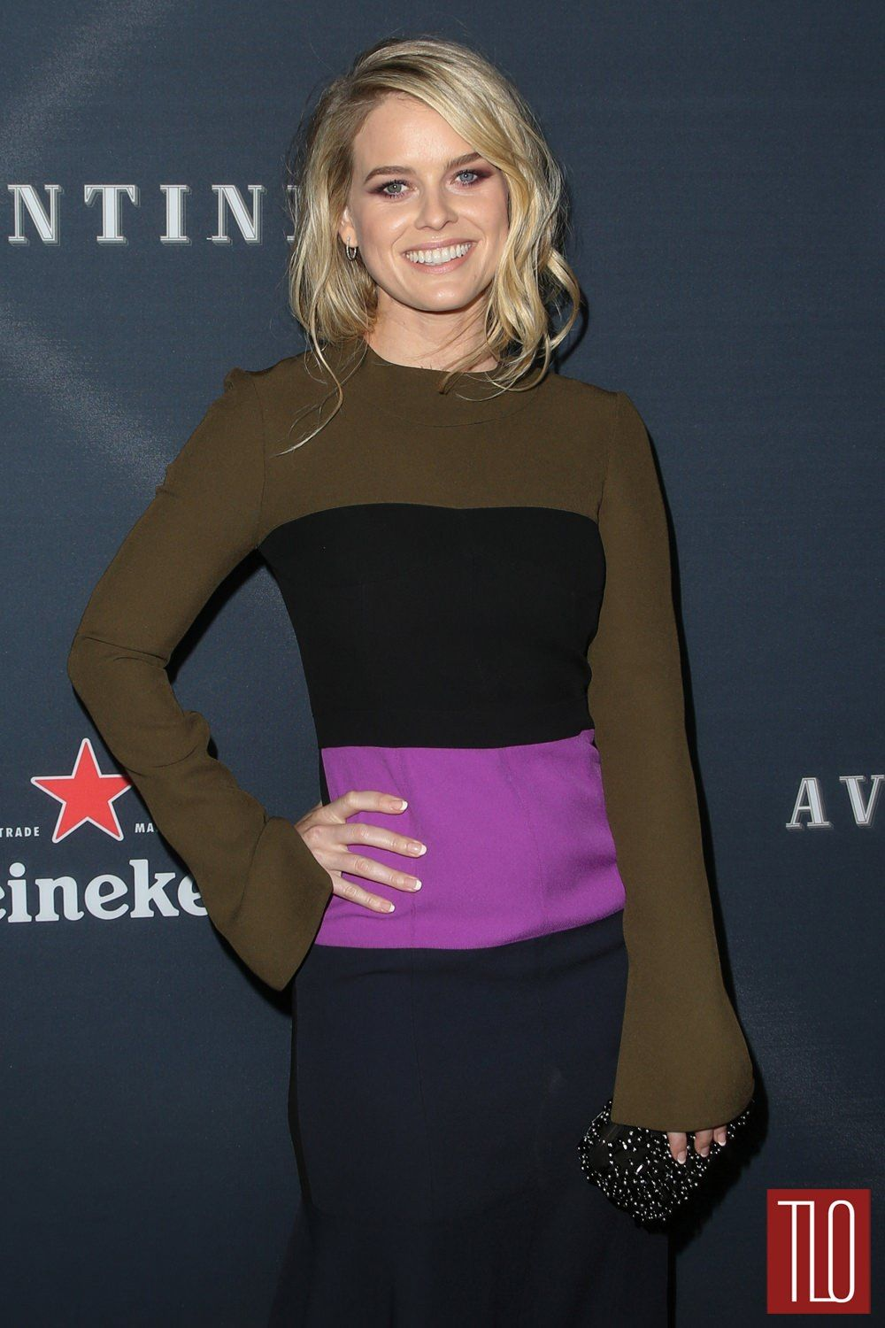 Alice Eve In Marni At The Before We Go Los Angeles Premiere