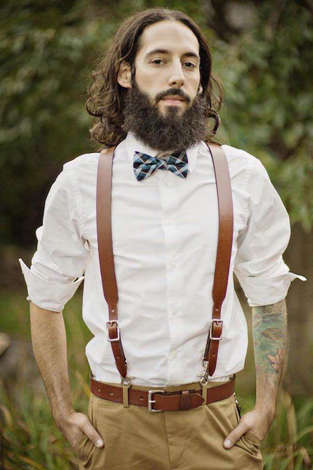 trajes de novio estilo boho chic moda